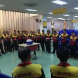DHL photo: Monthly birthday celebrations for our colleagues