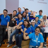 HP photo: The Wellness Team organized a blood drive in Malaysia