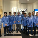 Flex photo: Mechanical Engineering Students from San Jose State University visit Flex