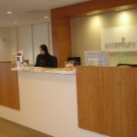 San Francisco, CA. Accenture Office - Receptionist
