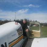 Menzies Aviation photo: After a nice flight at Gödöllő airfield in early spring in 2013