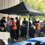 Annual BBQ at Concord location in 2018.