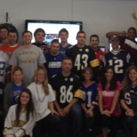 Spirit Day -- Football begins!