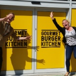 Gourmet Burger Kitchen photo: Our Head Chef in Chichester were very excited about our new opening