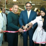 Woolworths Limited photo: 2011 Store opening day,me The youngest gentleman in the photo cutting the ribbon.