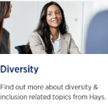 Read more about diversity https://www.hays.com.au/diversity