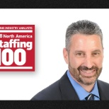 "Atterro photo: Congratulations to Geno Cutolo, our CEO, for making Staffing Industry Analysts' ""Staffing 100""!"