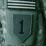 A badge showing that I was in a combat zone