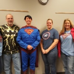 Marvel and DC united in the recently held Customer Service Week! #EverydayHero