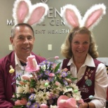 Trident Medical Center photo: Some of our special volunteers on Easter