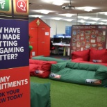 Sky Betting & Gaming photo: Breakout area