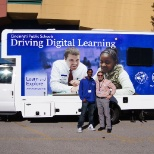 CINCINNATI PUBLIC SCHOOLS photo: Small teams can be trained on particular technology tools on location without ever leaving school.