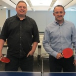Metagenics photo: Annual Ping Pong Match