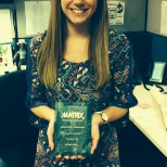 Our MATRIX Award of Excellence recognizes hard-working employees every quarter