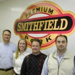 Smithfield Foods photo: the picture is of some people that work at a Smithfeild Packing Company