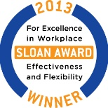 iHire, LLC photo: Winner of the 2013 Sloan Award for Workplace Excellence