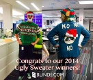 Blinds.com Ugly Christmas Sweater winners!