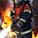 Falck Fire fighter