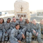 The women I had the pleasure of being deployed with.