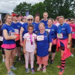 Caremark team at the Race for Life 2019