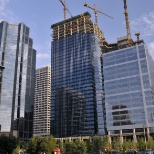Lafarge Canada photo: Centennial Place shines as a prominent addition to the downtown skyline.