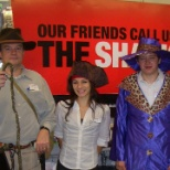 Friendly, Knowledgeable Shackers at for Trick or Treating in the Mall