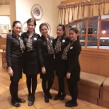 with my trainees - Olive Garden Host Pay