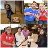 Our Dallas office celebrated the return of football with a little BBQ and trivia!