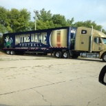 Towne Air Freight is the proud exclusive carrier for Notre Dame athletics!