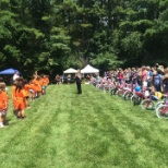 Burlington Summer outing where we donated 50 bikes to the boys and girls club!