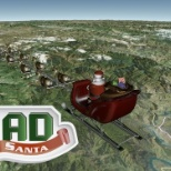 NORAD Tracks Santa using AGI's Cesium to show a 3D, interactive, real-time view of Santa's journey.