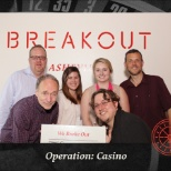 Geriatric Practice Management (GPM) photo: This team won second place, at the Breakout team outing in downtown Asheville!