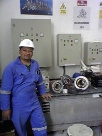Installation repair and maintenance motor pumps 