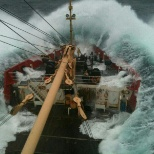 Canadian Coast Guard photo: Traveling South, leaving the Arctic
