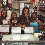 Journeys photo: Team 381 showing off their hard earned sales awards