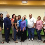 Edwards Lifesciences photo: HEALTH AND WELLNESS (Group that graduated from weight program)