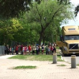 Bison Transport photo: Bison Transport presented a Truck tour for the children of Brooklands School