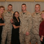 TriWest Healthcare Alliance photo: proud employees and proud soliders