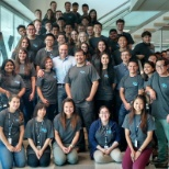 2015 Interns with CEO Mike McNamara