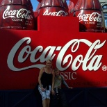 Proud to visit World of Coke in Disney Theme Park