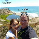 Robin Y., OR RN with her boyfriend, Geoff, during their visit to the #Sutro baths in San Francisco.