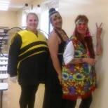 Cafe Services photo: One of our Fresh Pick's teams having a blast on Halloween!