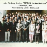 MCB Bank Limited photo: That was a join session between MCB Bank and Indus motor Compnay in 2009 in Islamabad