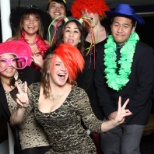Photo Booth fun with members of our Funding Team