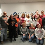 Our Tulsa team (local and Travel) are ready for College football game this weekend: OU vs. OSU