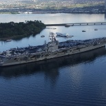 Pulling into Pearl Harbor