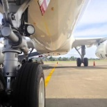 Have fun during push back the A320 Philippine airlines