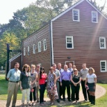 September 2013: Company outing at the Vail Factory House where the Telegraph was invented in 1838.