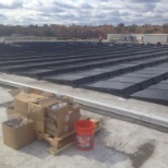 Solar panel completion