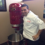 The Cake Boss with one of our Hobart Mixers